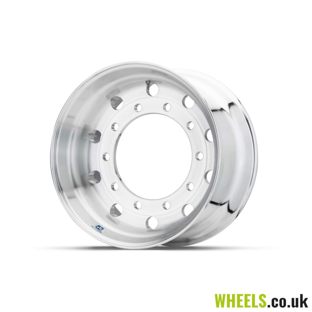 11.75x22.5 Brushed Wheel 26mm C/Nave 812520