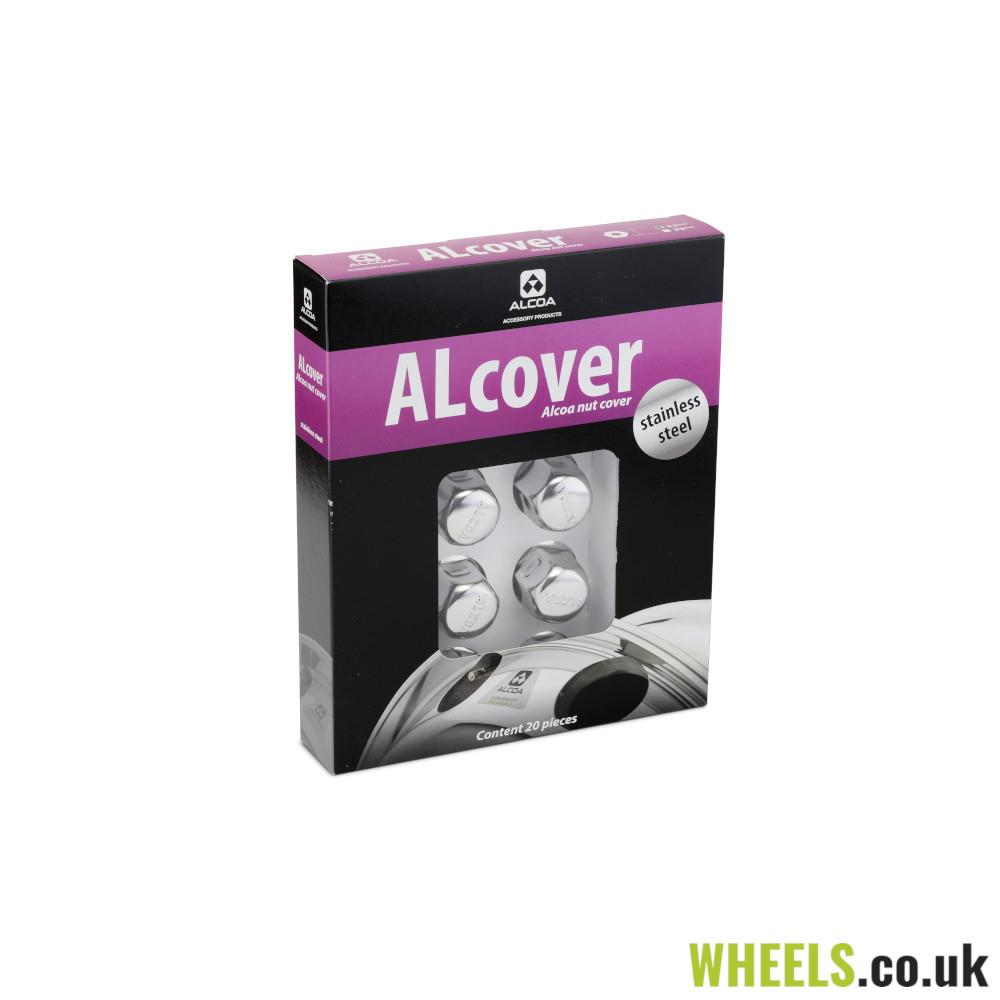 Alcoa® Stainless Steel Nut Covers 32mm - Pack 20