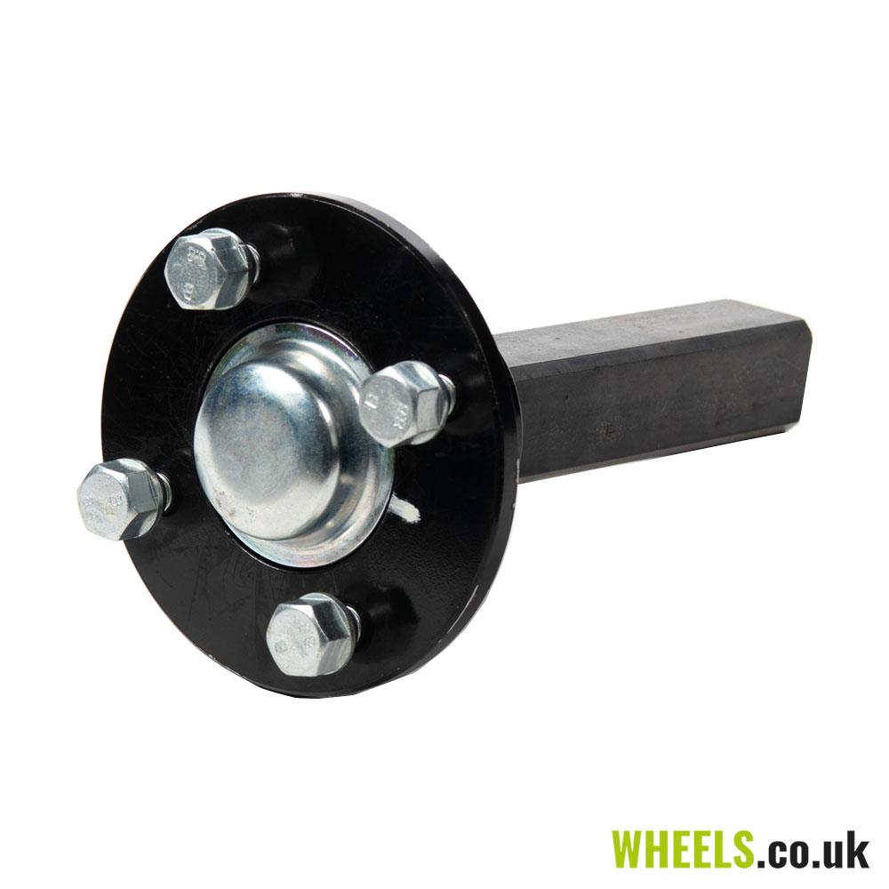 4 Stud, 100mm PCD Stub Axle & Hub